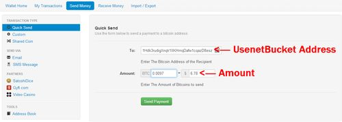 Pay For Usenet With Bitcoins - Invoice service usenet nl
