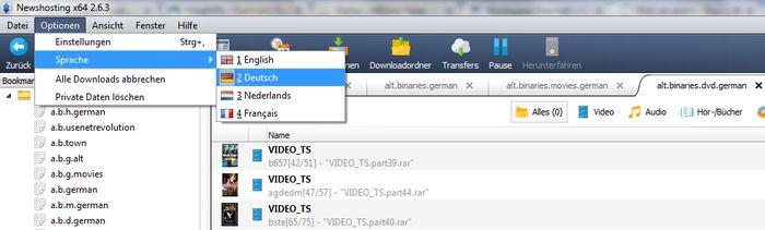 Best Usenet providers for German users